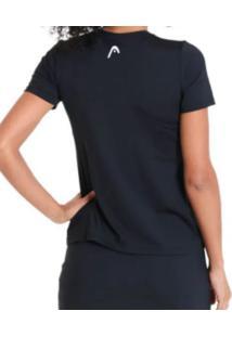Camiseta Feminina Básica - Head Preto