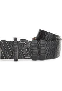 Cinto Cintura Quadril Regular Fivela Encapada Preto