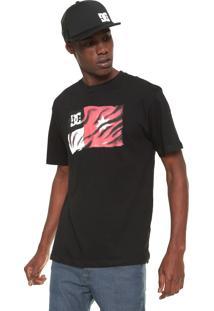 Camiseta Dc Shoes Core Air Preta