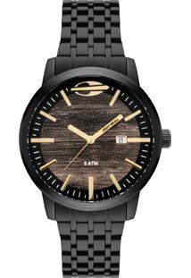 Relógio Mormaii Wood Preto Mo2115Bf4M - Kanui