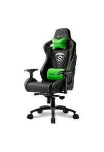 Cadeira Gamer Sharkoon Shark Skiller Sgs4 Black Green