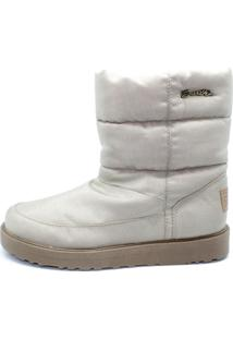 Bota Barth Shoes Snowflake Bege - Kanui