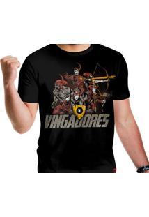Camiseta Vingadores