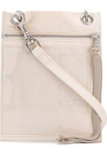 Rick Owens Drkshdw Carteira Security Pocket - Branco