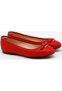 Sapatilha Couro Red