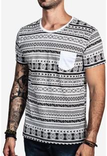 Camiseta Ethnic Full Print 100318
