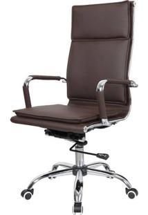 Cadeira Office Eames Com Encosto Alto Base Rodizios - 37296 - Sun House