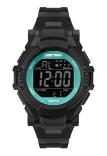 Relógio Mormaii Fun Unissex Preto Mo8600Aa/8V Mo8600Aa/8V