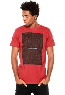 Camiseta Fiveblu Regret Nothing Vermelha/Preta
