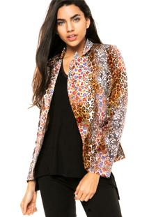 Blazer Mooncity Mix Bege