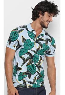 Camisa Polo Lacoste Live Folhagem Masculina - Masculino