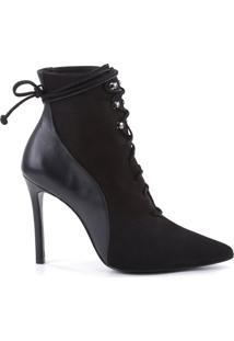 Bota Lace Up Black | Schutz