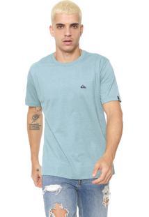 Camiseta Quiksilver Chest Color Verde