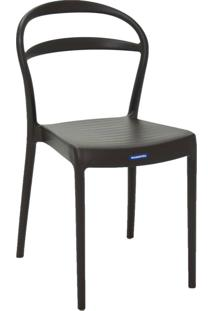 Cadeira Tramontina Sissi 92047/109 Marrom Se