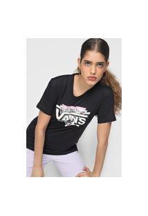 Camiseta Vans Tribe Side Preta