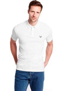 da00d94889 ... Camisa Polo Basic Polo Live Branca 1013-01 - G