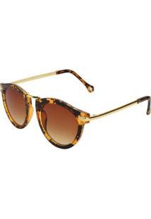 Óculos Ray Flector Piccadilly Circus - Feminino-Amarelo+Preto