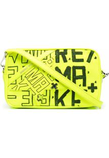 Golden Goose Bolsa Transversal Com Estampa Re/Make - Amarelo