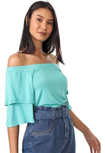 Blusa Mercatto Flamê Verde