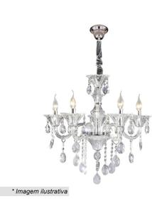 Lustre Maria Thereza- Cristal- 66X44X26Cm- Bivolhevvy