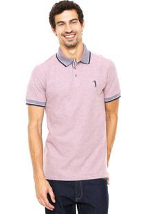 Camisa Polo Aleatory Color Rosa
