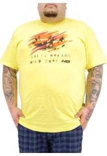 Camiseta Hd Extra Amarelo