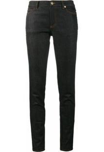 Valentino Calça Jeans Reta - Azul