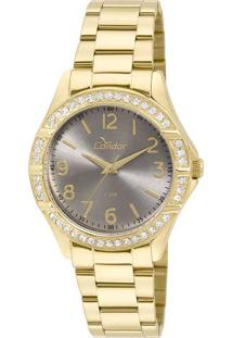 caf190160c8 Relógio Analógico Preto Swarovski feminino