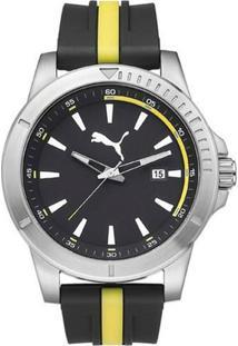 262440f24f8 ... Relógio Masculino Puma Analogico - Unissex-Preto+Amarelo
