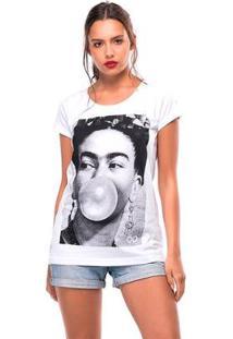 Camiseta Lost Useliverpool Feminina - Feminino-Branco