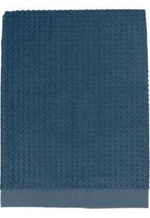Toalha De Rosto Solare- Azul Marinho- 45X80Cm- Tteka