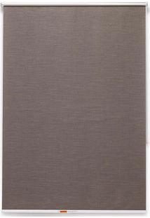 Cortina Soft Jacquard 2 Folhas 140X160 - Evolux - Marrom
