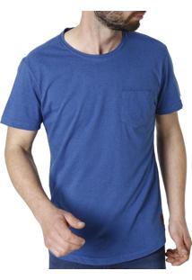 Camiseta Manga Curta Vels Azul
