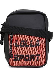 Bolsa Shoulder Bag Santa Lolla Sport Nylon Feminina - Feminino