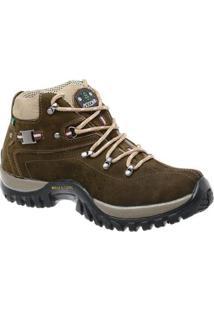 Coturno Adventure Tchwm Shoes Em Couro - Masculino