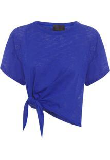Camiseta Feminina Mc Richard - Azul