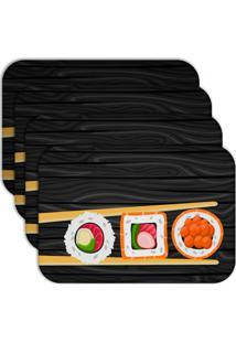 Jogo Americano - Love Decor Sushi Kit Com 6 Peças - Kanui