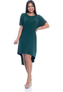 Vestido B'Bonnie Mullet Arya Verde Militar - Kanui