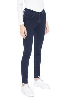 Calça Jeans Calvin Klein Jeans Skinny Lisa Azul-Marinho