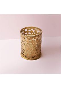 Luminária Sintra Cor: Ouro - Tamanho: Único