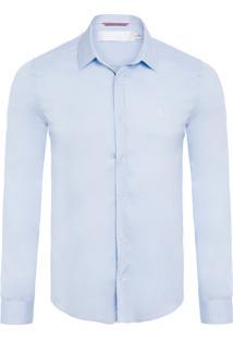 Camisa Masculina Eslast Vist Gorg - Azul