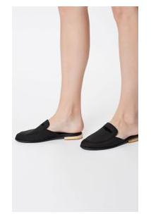 Sapato Slipper Preto