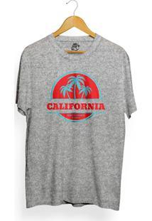 Camiseta Los Fuckers Santa Monica - Masculino-Cinza