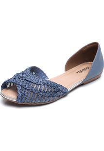 Sapatilha Dakota Tela Azul