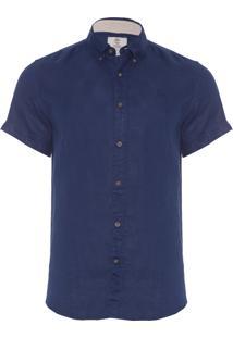 Camisa Masculina Rattle River - Azul