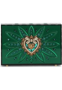 Dolce & Gabbana Clutch Devotion - Verde