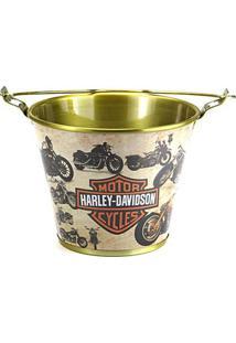 Balde De Gelo Harley-Davidson Motorcycles Em Alumínio 8054