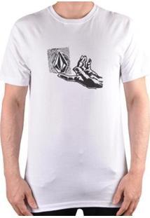 Camiseta Volcom Silk Leaner Masculina - Masculino