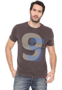 Camiseta Aramis 95 Marrom