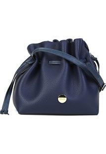 Bolsa Anacapri Mini Bag Med Floater Bag Feminina - Feminino-Marinho